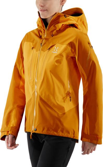 Haglöfs Spitz Jacket Women cloudberrydesert yellow